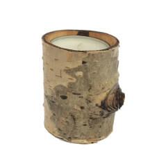 Suport lumanare din lemn de fag
