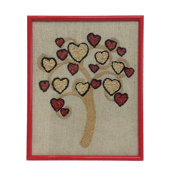 Tablou copacul cu inimioare