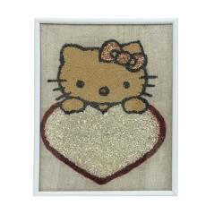 Tablou cu pisicuta Hello Kitty
